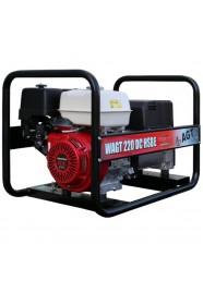 Generator de sudura trifazat AGT WAGT 220 DC HSBE, 6.5 kVA, 220 A