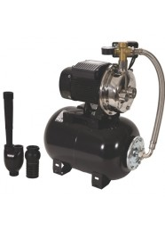 Hidrofor cu pompa din inox si ejector Wasserkonig PMI30-090/25H, 900 W, 2640 l/h, Hmax 36 m, 24 l