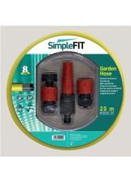 "Kit furtun pentru gradina SimpleFIT 12.5 mm (1/2"") x 20 m"