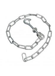 Lant cu carabina pentru tubulatura Tecknoplast E001TC
