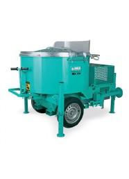 Malaxor Imer MIX 750, 400 V, 4 kW, 750 L, tractabil