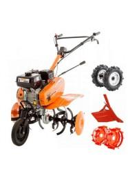 Motosapa RURIS DAC 7000 ACC1, 7 CP + roti cauciuc, roti metalice, rarita reglabila