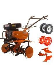 Motocultor (Motosapa) RURIS DAC 7600K, 7 CP, benzina, 6 viteze + Accesorii