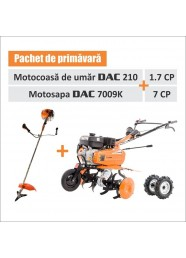 Pachet PRIMAVARA (Motocoasa DAC 210 + Motosapa DAC 7009K)