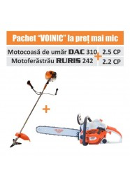 Pachet VOINIC (Motocoasa DAC 310 + Motoferastrau RURIS 242)