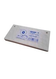 Set 5 placi filtrante 20x10 cm ROVER 0, degrosare forte
