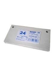 Set 5 placi filtrante 20x10 cm ROVER 24, filtrare super-fina