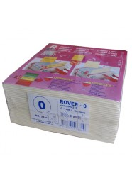 Set 25 placi filtrante 20x20 cm ROVER 0, degrosare forte