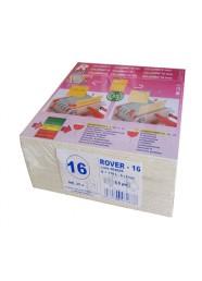 Set 25 placi filtrante 20x20 cm ROVER 16, clarifiere medie