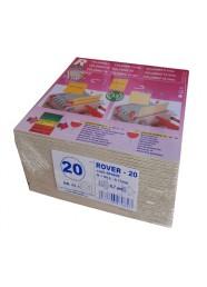 Set 25 placi filtrante 20x20 cm ROVER 20, filtrare fina