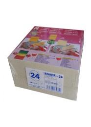 Set 25 placi filtrante 20x20 cm ROVER 24, filtrare super-fina