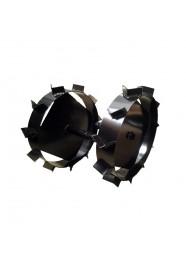 Set roti metalice Szentkiraly 42 cm, ax cilindric 24 mm
