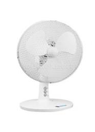 """Ventilator de birou Descon DA-0902, 230 V, 20 W, 9"""", Alb"""