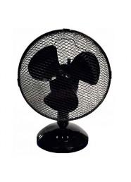 """Ventilator de birou Descon DA-0902B, 230 V, 20 W, 9"""", Negru"""