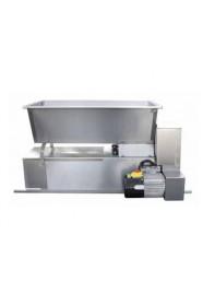 Zdrobitor-desciorchinator electric cu snec ENO 15 Inox, 750 W, 1600-1800 kg/h