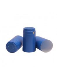 Capisoane termocontractibile PVC 31 x 60 mm - albastru