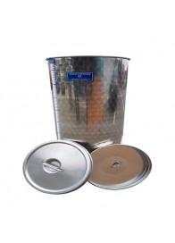 Cisterna inox cu sigiliu de ulei Marchisio SPO80, 384x750 mm, 80 L