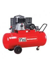 Compresor de aer Fini BK114-270-5.5, 400 V, 4 kW, 580 l/min, 10 bar, 270 l