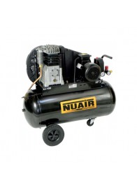 Compresor de aer Nuair NUB B3800B/100 CT3, 400 V, 2.2 kW, 390 l/min, 10 bar, 100 l