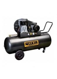 Compresor de aer Nuair NUB B3800B/200 CT4, 400 V, 3 kW, 480 l/min, 10 bar, 200 l