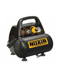 Compresor de aer Nuair NUB NEW VENTO OL195/6 CE, 230 V, 1.1 kW, 180 l/min, 8 bar, 6 l