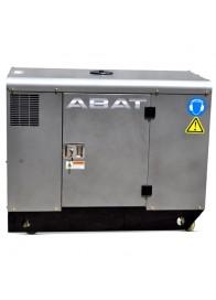 Generator de curent insonorizat, monofazat ABAT 12AD, 11 kVA, diesel, pornire electrica, Automatizare