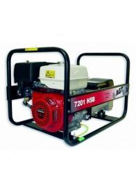 Generator de curent monofazat AGT 7201 HSB, Honda GX390, 6 kVA, benzina