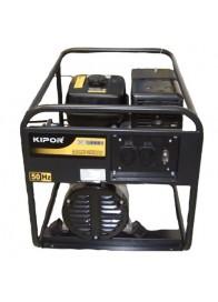 Generator de curent monofazat Kipor KGE 6000 C