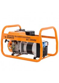 Generator de curent monofazat Ruris R-POWER GE 2500S, 2500 W