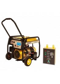 Generator de curent electric Stager FD 10000E+ATS, 8500 W, monofazat, benzina + Automatizare