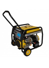 Generator de curent electric Stager FD 9500E, 7500 W, monofazat, benzina, pornire electrica