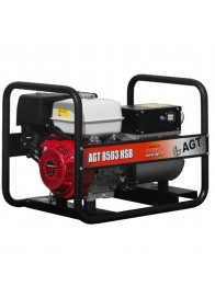 Generator de curent trifazat AGT 8503 HSB, Honda GX390, 8 kVA (400V) / 5 kVA (230V), benzina