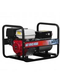 Generator de curent trifazat AGT 8503 HSBE, Honda GX390, 8 kVA (400V) / 5 kVA (230V), benzina, pornire electrica