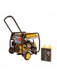 Generator de curent electric Stager FD 10000E3+ATS, 8500 W, trifazat, benzina + Automatizare