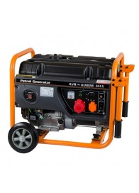 Generator de curent electric Stager GG 7300-3W, 6300 W, trifazat, benzina