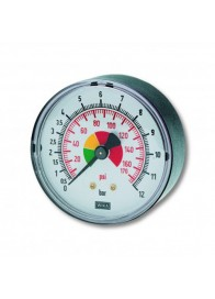 "Manometru cu glicerina radial D63 mm, 1/4"", 0-16 bar"