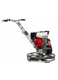 Masina de slefuit beton AGT 4-600 W, Honda GX160, 5.5 CP, 600 mm + Disc flotor