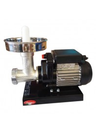Masina de tocat carne REBER 9501 NB, nr. 5, 400 W, 30-50 kg/h, accesorii inox