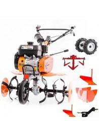 Motosapa Ruris DAC 7009 ACC2, 7 CP, benzina, 83 cm + roti cauciuc + 2 pluguri bilonat + cultivator + plug arat + adaptor plug