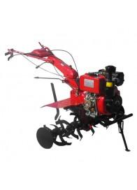 Motocultor (Motosapa) MEDIA LINE MS 100 DCF, 10 CP, diesel, 3 viteze + Accesorii