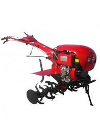 Motocultor (Motosapa) MEDIA LINE MS 100 DCFE, 10 CP, diesel, 3 viteze, pornire electrica + Accesorii