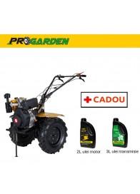 Motocultor (Motosapa) ProGARDEN HS 1100B, 9 CP, diesel, 3 viteze