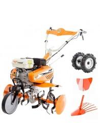 Motocultor (Motosapa) RURIS 7088, 7 CP, benzina, 3 viteze + Accesorii