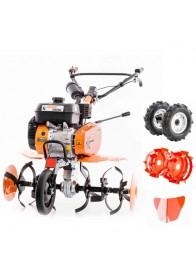 Motosapa Ruris DAC 7009 ACC1, 7 CP, benzina, 83 cm + roti cauciuc + roti metalice + plug bilonat