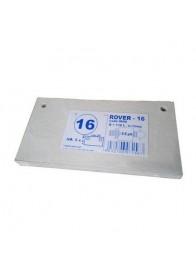 Set 5 placi filtrante 20x10 cm - ROVER 16