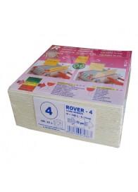 Set 25 placi filtrante 20x20 cm ROVER 4, degrosare medie