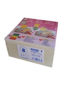 Set 25 placi filtrante 20x20 cm - ROVER 8