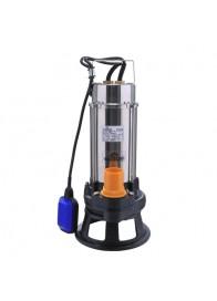 Pompa submersibila cu plutitor pentru apa murdara Wasserkonig PSI14, 1500 W, 300 l/min, Hmax. 14 m