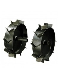 Set roti metalice Szentkiraly 34 cm, ax cilindric 24 mm