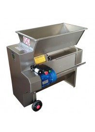 Zdrobitor-desciorchinator electric cu pompa ENO 20 INOX, 1.5 kW, 1500-1800 kg/h